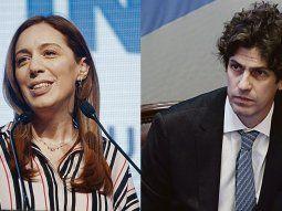 María Eugenia Vidal y Martín Lousteau.