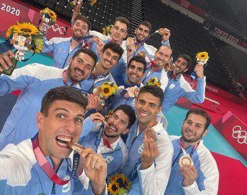 El voley consiguió la medalla número 77 en la historia argentina.