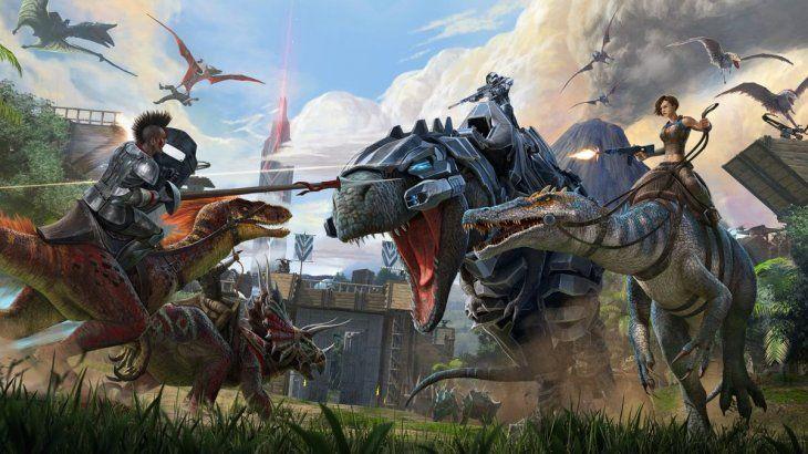 Ark: Survival Evolved fue lanzado en 2015.