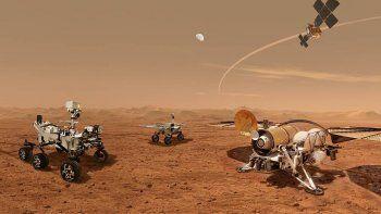 Bocetos del diseño de robots de la NASA.
