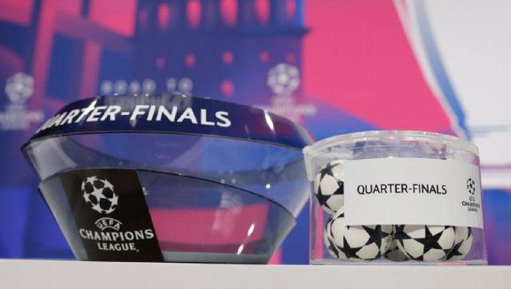 Champions League: así se jugarán los cuartos de final