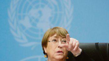 QUEJA DE ALTO NIVEL. La alta comisionada de Naciones Unidas para los Derechos Humanos, Michelle Bachelet, protestó ayer por la masiva violación de libertades básicas que supone el escándalo de espionaje Pegasus.