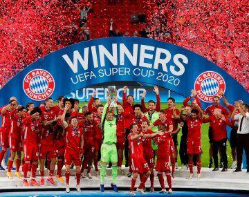 Bayern Munich le ganó la Supercopa de Europa a Sevilla y sumó un nuevo récord.