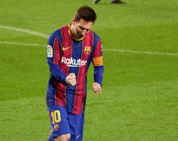 Messi y un nuevo récord en su carrera.