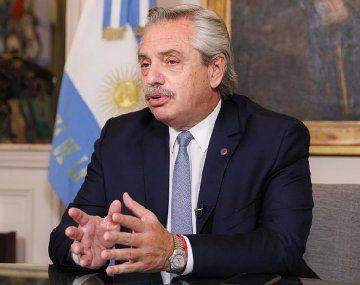 Alberto Fernández volvió a descartar una asistencia a los sectores más perjudicados por el Covid-19.