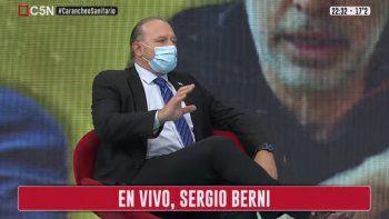 Berni: Tenemos que cerrar tres semanas de verdadera cuarentena