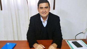 Fabio Martínez, intendente de Eldorado.
