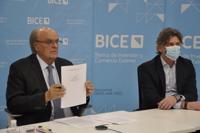El Banco de Inversión y Comercio Exterior (BICE) anunció nuevas líneas a tasa bonificada para empresas que exportan a Brasil y firmó un acuerdo con el Banco de Desarrollo del país vecino, el BNDES, para impulsar proyectos en común.