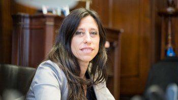 La Secretaria de Comercio Interior, Paula Español.