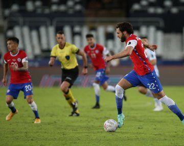 Ben Brereton debutó en Chile y la cuenta oficial tuvo un desafortunado tuit que enojó a la Argentina.