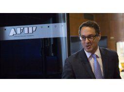 El titular de la Administración Federal de Ingresos Públicos (AFIP), Leandro Cuccioli.