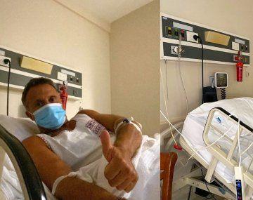 SergioLapegüe fue derivado a terapia intensiva.
