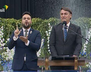 El presidente de Brasil, Jair Bolsonaro, se comprometió a designar a un pastor como juez del Supremo Tribunal.