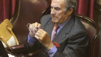 El senador nacional por Santa Fe, Carlos Reutemann.