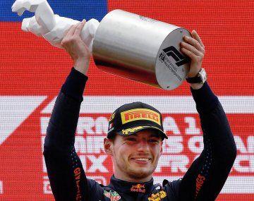 Max Verstappen ganó en Francia y manda en la Fórmula 1.