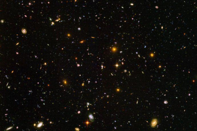 La imagen más vieja que se puede encontrar del universo.