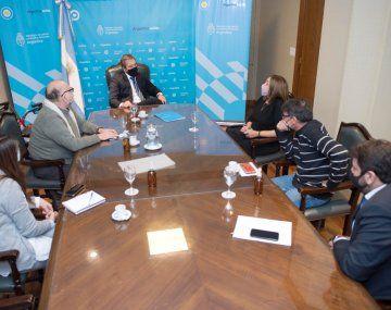 Soria lideró el encuentro con organizaciones