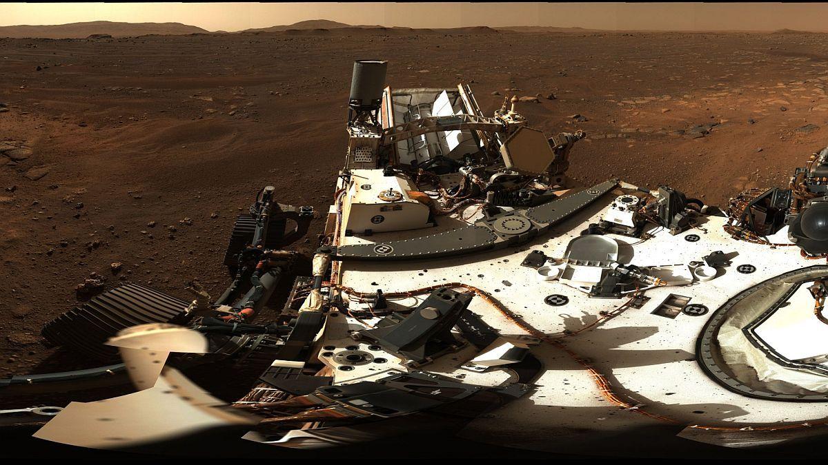 NASA publicó espectacular foto panorámica de Marte