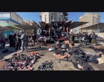 Al menos 32 muertos en un doble atentado suicida en el centro de Bagdad