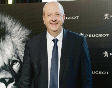 """Proyecto. """"Cuando Peugeot invierte en la Argentina no lo hace pensando en los próximos seis meses"""", dijo el CEO mundial de la automotriz."""