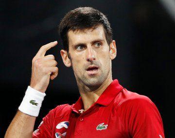 Djokovic no está a favor de someterse a una vacuna obligatoria para volver a jugar.