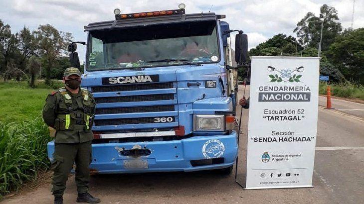El decomiso de soja se produjo en dos operativos de control e inspección que las y los trabajadores de la GNA realizaron en rutas nacionales bajo las órdenes de la ministra Frederic y el titular de la fuerza, Andrés Severino.