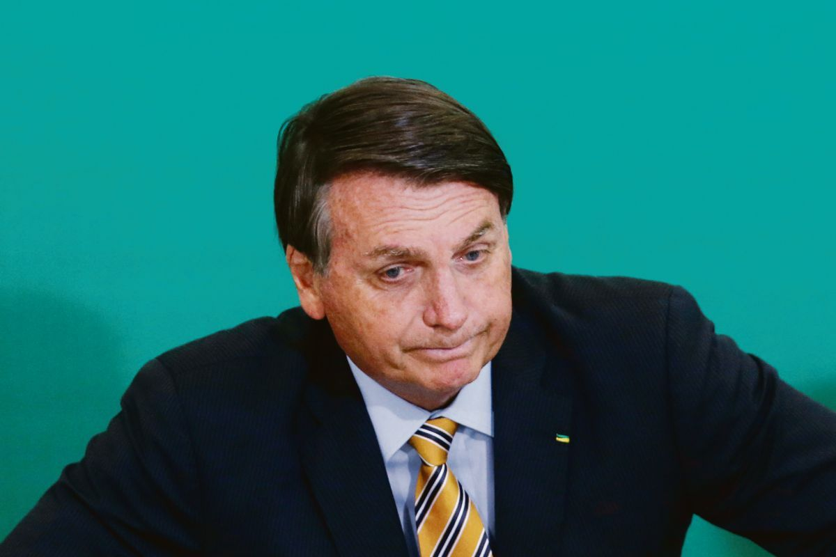 COMPLICADO. El presidente Jair Bolsonaro ha visto caer su popularidad en los últimos meses, a menos de un año de la celebración de elecciones.