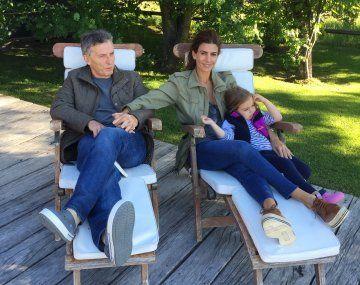 Macri viajó a Neuquén para descansar con su familia