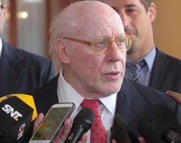 Julio Crivelli, presidente de la Cámara de las Construcción.