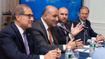 La delegación argentina en Nueva York