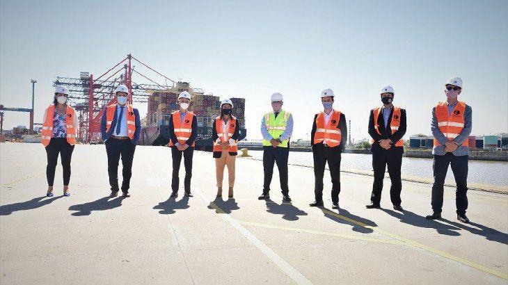 La Secretaría de Energía y el CGPDS acordaron generar mecanismos que faciliten la actividad petroquímica en el puerto.