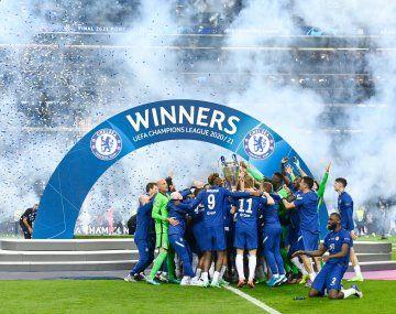 Chelsea es uno de los cinco equipos con dos títulos en la Champions.