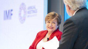 La directora del FMI, Kristalina Georgieva.