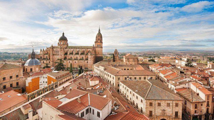 Panorámica de Salamanca.