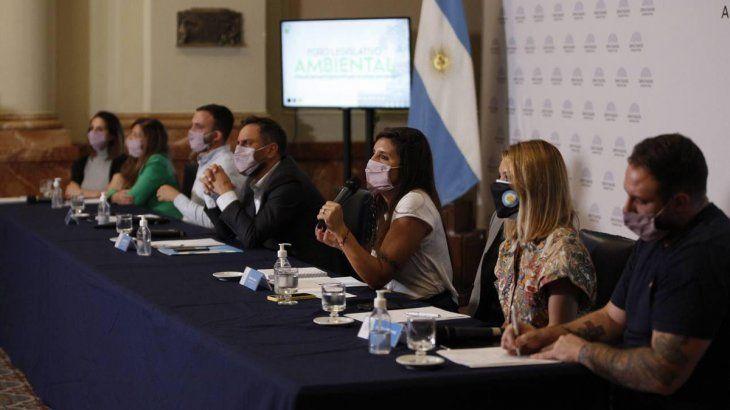 El Foro Legislativo Ambiental se presentó en Diputados