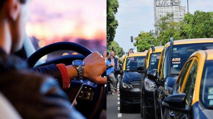 El informe compara los costos mensuales entre el auto particular y el taxi.