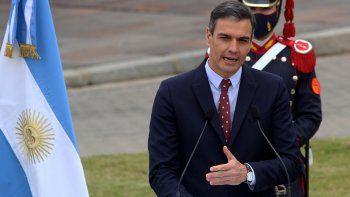 El presidente de España, Pedro Sánchez, se refirió a la vacuna Sputnik V.