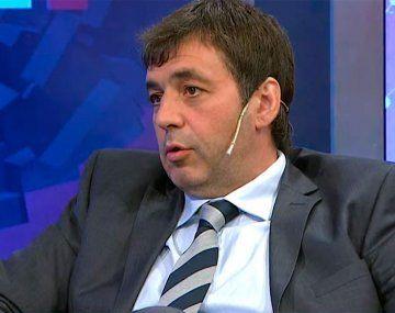 Fabián de Sousa en C5N. (Imagen de TV)