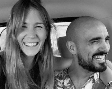 Abel Pintos y Mora Calabrese esperan un hijo