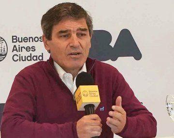 El ministro de Salud de la Ciudad, Fernán Quirós.