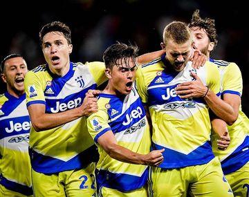 Dybala fue capitán en Juventus, que por fin pudo ganar.