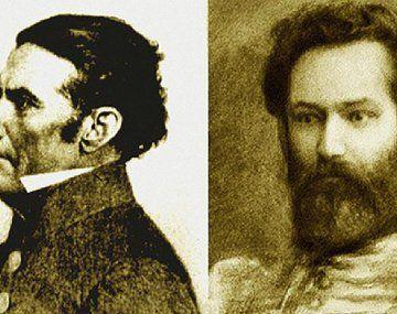 José Gervasio Artigas y Juan Martín de Güemes.