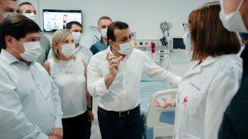 El gobernador Oscar Herrera Ahuad inauguró una sala de Terapia Intensiva y el Centro de Diálisis del hospital de Apóstoles.