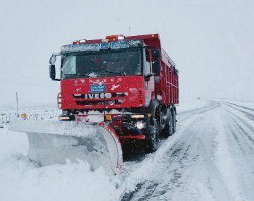 En operativo de invierno