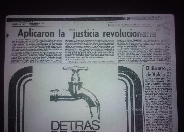 Con la excusa de aplicar una justicia revolucionaria
