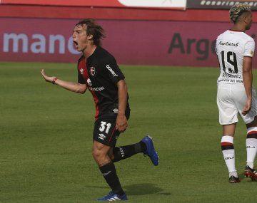 Cacciabue anotó el único tanto del partido.