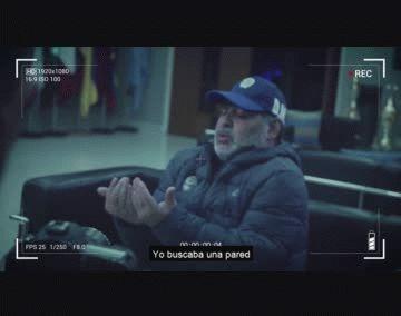Maradona narra cómo fue La Mano de Dios.