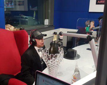 Norberto Oyarbide y su paso como columnista en Radio 10