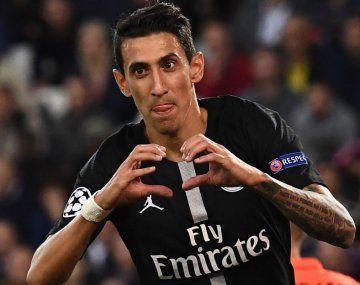 Corazón roto. Di María podría volver a Manchester United, donde fue silbado por los hinchas y no tuvo un buen año cuando estuvo allí.