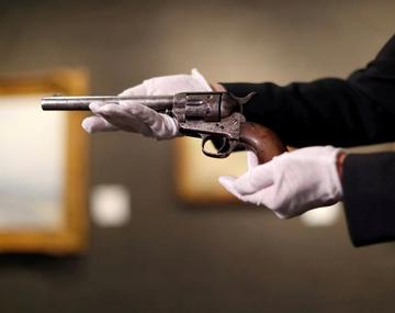 El revólver con el que mataron a Billy the Kid se subastó por seis millones de dólares